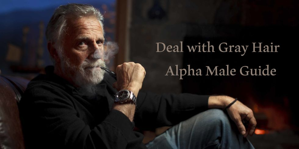 Deal With Gray Hair Alpha Male Guide Alpha Male Nation