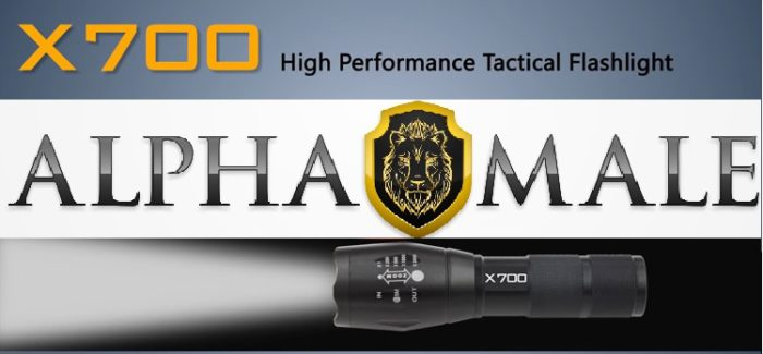 Tactical x700 Led Flashlight Review