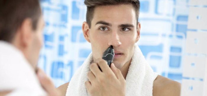 How to trim your nose hair