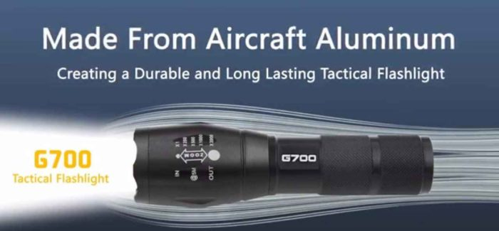 Tactical G700 Flashlight Review