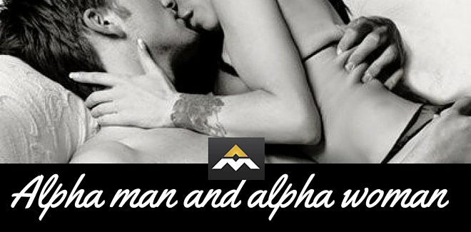 Alpha man and alpha woman