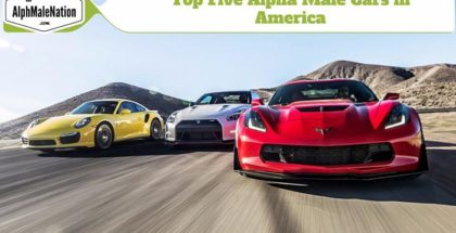 Best cars in 2016 for an AlphaMale