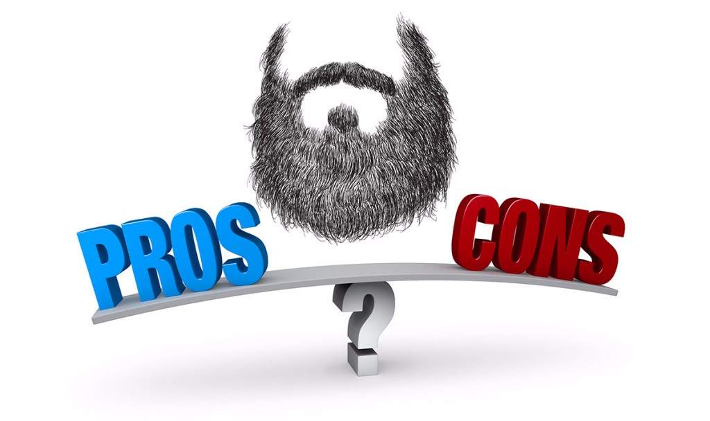 pros and cons on beard
