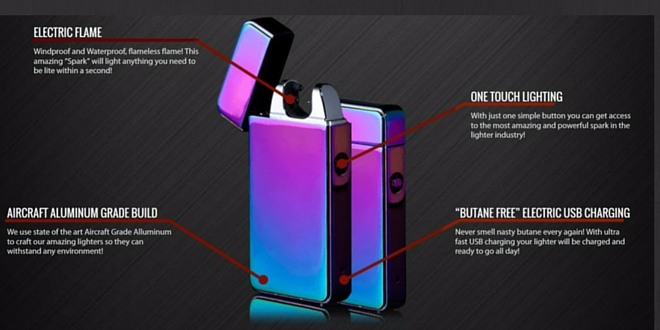 find out how inferno lighter double arc really works