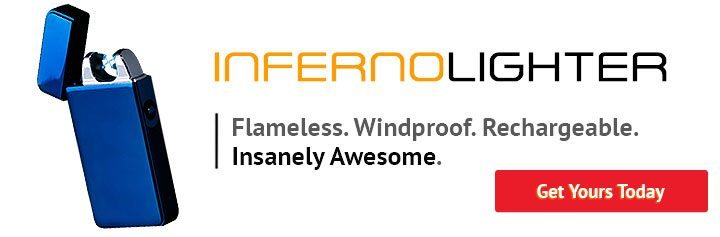 buy inferno lighter doule arc