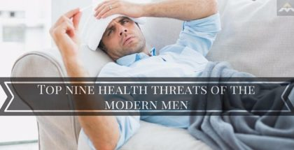 Top nine health threats of the modern men
