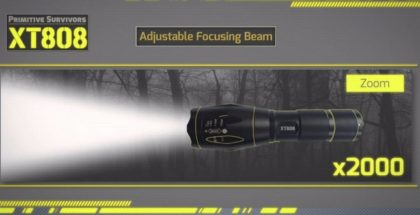 XT808 LED Flashlight Reviews