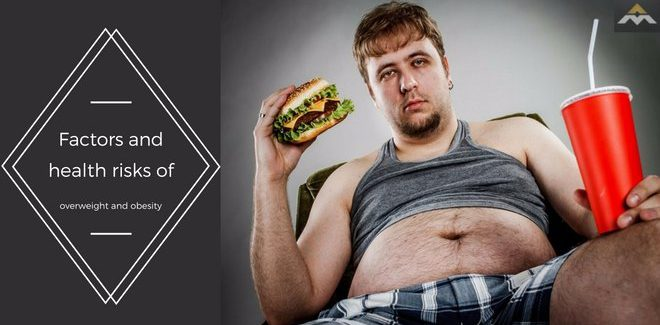 Factors and health risks of overweight and obesity