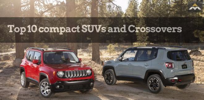 Top 10 compact SUVs and Crossovers